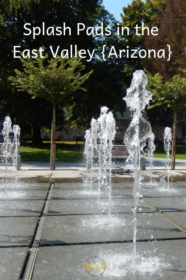 Splash Pads in the East Valley {Arizona}